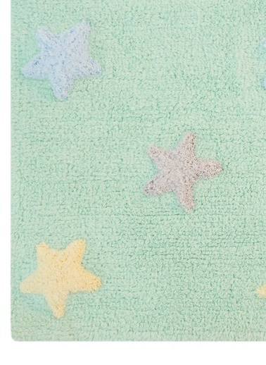 Lorena Canals Stars Halı Yeşil
